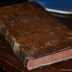 Libros antiguos: RECREACIÓN FILOSÓFICA TOMO IV . ALMEIDA .IMPRENTA REAL. MADRID 1792, PIEL CON TEJUELO. 2ª IMPRESION. Lote 56641110