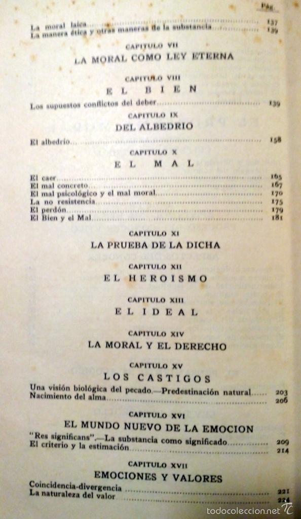 Libros antiguos: ETICA - VASCONCELOS EDITORIAL AGUILAR AÑO 1932 - Foto 5 - 56665707