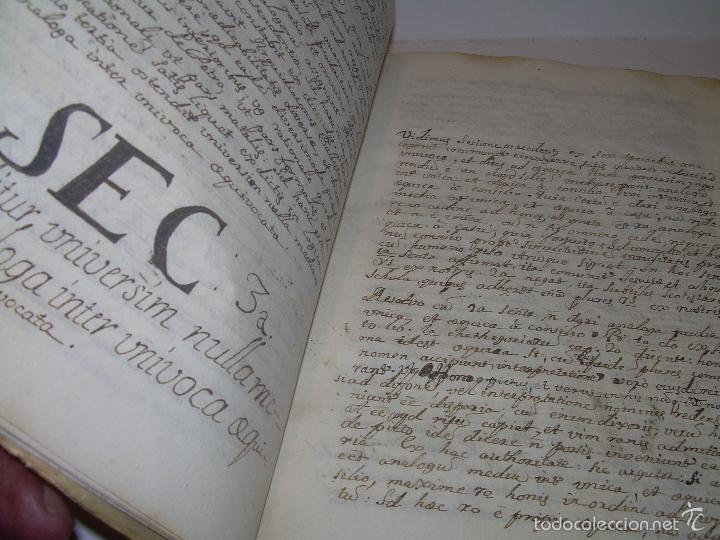 Libros antiguos: IMPORTANTISIMO LIBRO TAPAS DE PERGAMINO....MANUSCRITO.....METAFISICA. - Foto 9 - 56745651