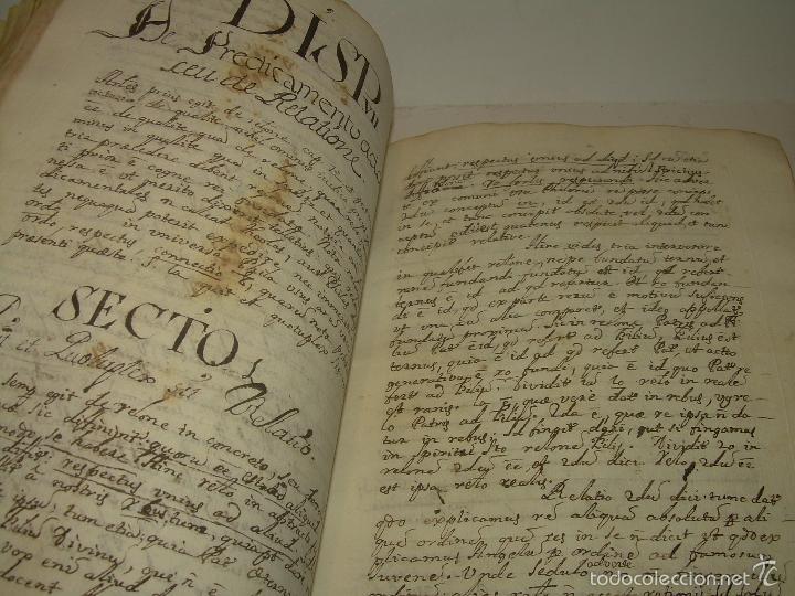 Libros antiguos: IMPORTANTISIMO LIBRO TAPAS DE PERGAMINO....MANUSCRITO.....METAFISICA. - Foto 11 - 56745651