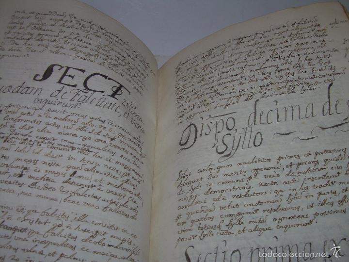 Libros antiguos: IMPORTANTISIMO LIBRO TAPAS DE PERGAMINO....MANUSCRITO.....METAFISICA. - Foto 12 - 56745651