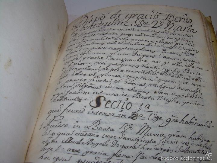 Libros antiguos: IMPORTANTISIMO LIBRO TAPAS DE PERGAMINO....MANUSCRITO.....METAFISICA. - Foto 13 - 56745651