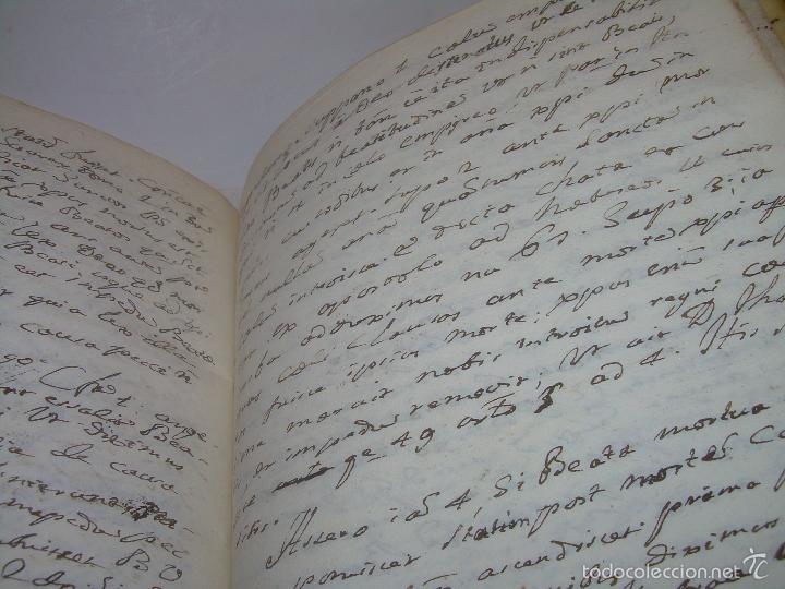 Libros antiguos: IMPORTANTISIMO LIBRO TAPAS DE PERGAMINO....MANUSCRITO.....METAFISICA. - Foto 14 - 56745651