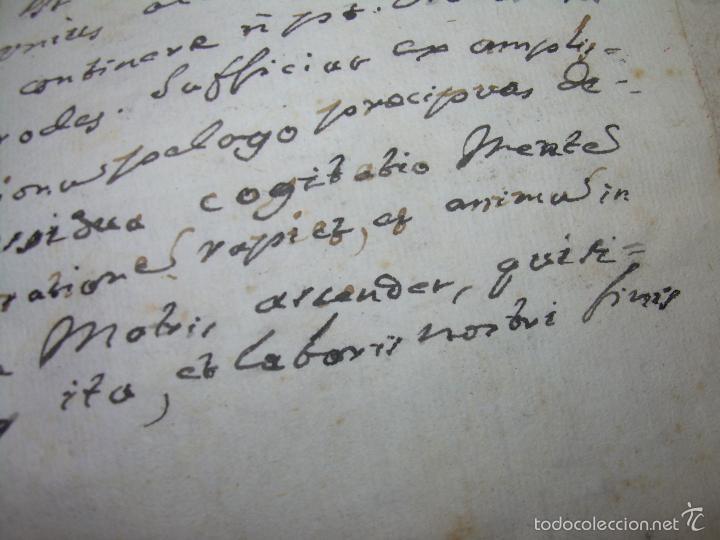 Libros antiguos: IMPORTANTISIMO LIBRO TAPAS DE PERGAMINO....MANUSCRITO.....METAFISICA. - Foto 15 - 56745651