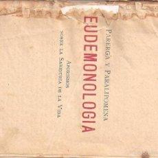 Libros antiguos: ANTIGUO LIBRO DE SCHOPENHAUER EUDEMONOLOGIA DEL AÑO 1850. Lote 57953240