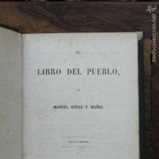 Libros antiguos: EL LIBRO DEL PUEBLO. MANUEL HENAO Y MUÑOZ. 1863.. Lote 58262606