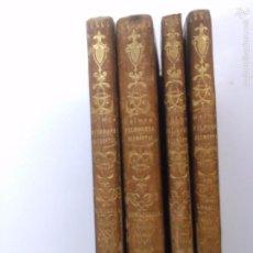 Libros antiguos: FILOSOFIA FUNDAMENTAL. JAIME BALMES (4 TOMOS). Lote 58511406