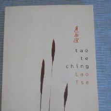 Libros antiguos: TAO TE CHING DE LAO TSE. Lote 58555960