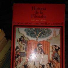 Libros antiguos: HISTORIA DE LA FILOSOFIA . Lote 59589307