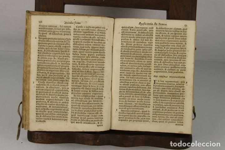 Libros antiguos: 4912- QUAESTIONES MINORIS DIALECTICAE. MICHAEL COMAS E BRUGARIO. TIP. ANTONII LACAUALLERIA 1661. - Foto 5 - 43943758