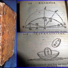 Libros antiguos: AÑO 1762: LA BÚSQUEDA DE LA VERDAD. MALEBRANCHE. LIBRO CON CURIOSAS ILUSTRACIONES DEL SIGLO XVIII.. Lote 64384799