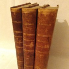 Libros antiguos: PHILOSOPHIA ELEMENTARIA 1868.TRES VOLUMENES CORRELATIVOS, EL UNO EL DOS Y EL TRES.MAGNIFICO ESTADO.. Lote 64473595