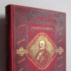 Libros antiguos: EL GENESIS DE LOS MILAGROS Y LAS PREDICCIONES SEGUN EL ESPIRITISMO - FILOSOFIA ESPIRITISTA -AÑO 1904. Lote 67235421