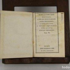 Libros antiguos: 4628. SUMMA PHILOSOPHICA. FRATRIS SALVATORIS ROSELLI. EDITORIAL BENEDICTI CANO. 1788. 6 VOL.. Lote 43434852