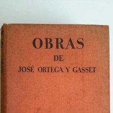 Libros antiguos: OBRAS DE JOSÉ ORTEGA Y GASSET. ESPASA CALPE. 1A ED 1932. EL ESPECTADOR. ESPAÑA INVERTEBRADA. ARTE. Lote 67945409