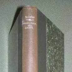 Libros antiguos: SCHELER, MAX: SOCIOLOGIA DEL SABER. REVISTA DE OCCIDENTE, 1935. Lote 70112633
