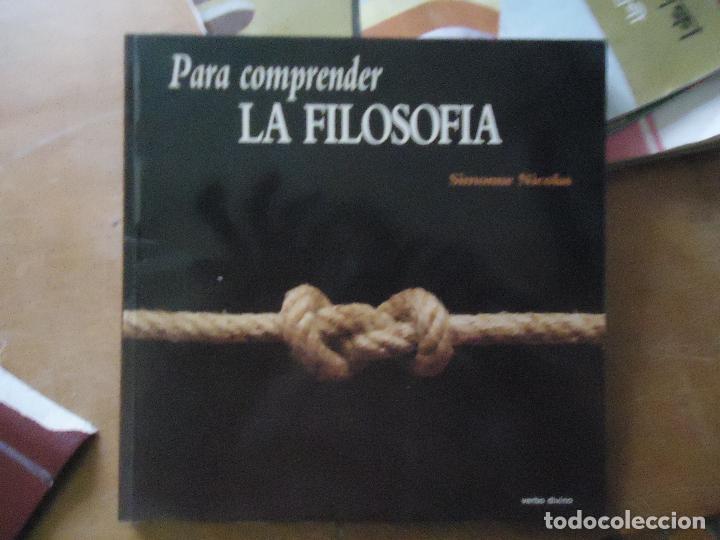 PARA COMPRENDER LA FILOSOFÍA - NICOLÁS, SIMONNE NICOLÁS, SIMONNE ENCUADERNACIÓN DE TAPA BLANDA (Libros Antiguos, Raros y Curiosos - Pensamiento - Filosofía)