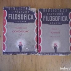 Libros antiguos: BIBLIOTECA ECONOMICA FILOSOFICA ZOZAYA SOCIEDAD GENERAL DE LIBREROS 1885. Lote 73603191