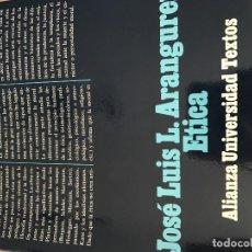 Libros antiguos: ÉTICA . Lote 78347641