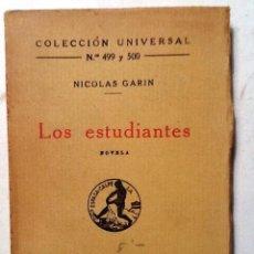 Libros antiguos: LAS MULTITUDES RAIMUNDO CASELLAS 1921 COLECCION UNIVERSAL N º 496 A 498 . Lote 79995921