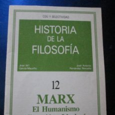 Libros antiguos: LIBRO-HISTORIA DE LA FILOSOFÍA 12-MARX-NUEVO-VER FOTOS.. Lote 82841000