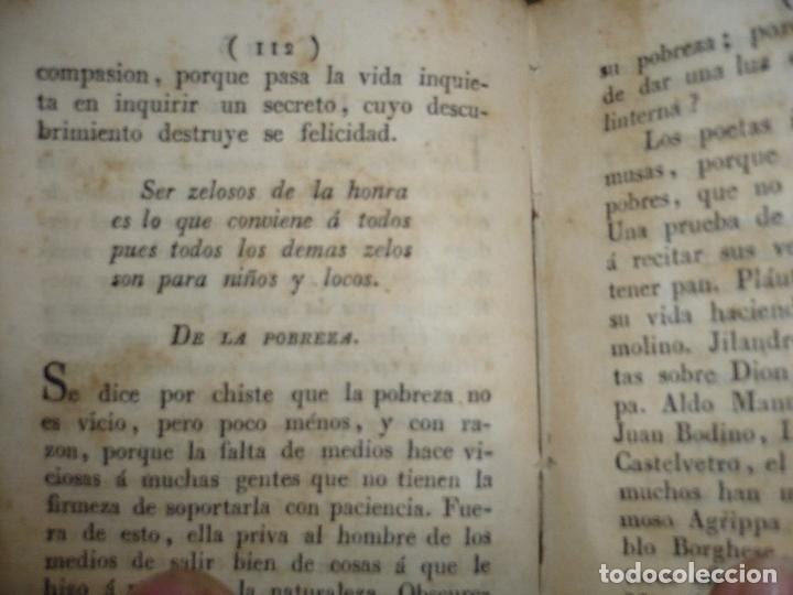 Libros antiguos: AMENIDADES FILOSOFICAS O DISCURSOS D.E.A.P. 1829 BARCELONA IMPR.VIUDA ROCA - Foto 5 - 83493020