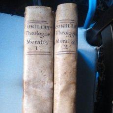 Libros antiguos: FULGENTIO CUNILIATI THEOLOGIA UNIVERSAL AÑO 1803 2 TOMOS TEOLOGÍA. Lote 84535812