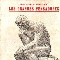 Libros antiguos: ELISEO RECLÚS : EL HOMBRE Y LA TIERRA - SELECCIÓN (ESCUELA MODERNA, S.F.). Lote 89506244