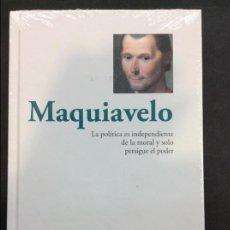 Libros antiguos: MAQUIAVELO - LA POLITICA ES INDEPENDIENTE DE LA MORAL Y SOLO PERSIGUE EL PODER RBA. Lote 90712530