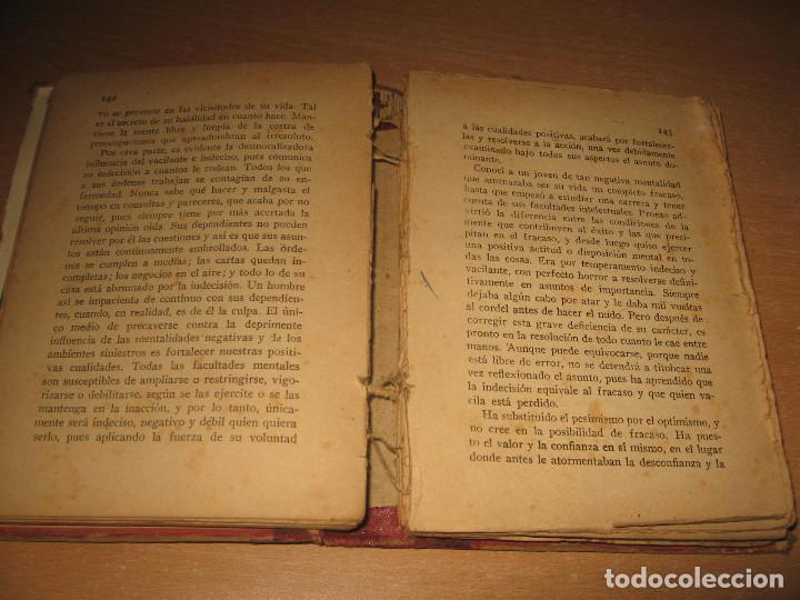 Libros antiguos: LA OBRA MAESTRA DE LA VIDA ORISON SWEET MARDEN ED. PARERA AÑO 1919 - Foto 3 - 130175655
