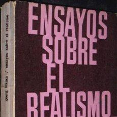 Libros antiguos: ENSAYOS SOBRE EL REALISMO. Lote 91724055