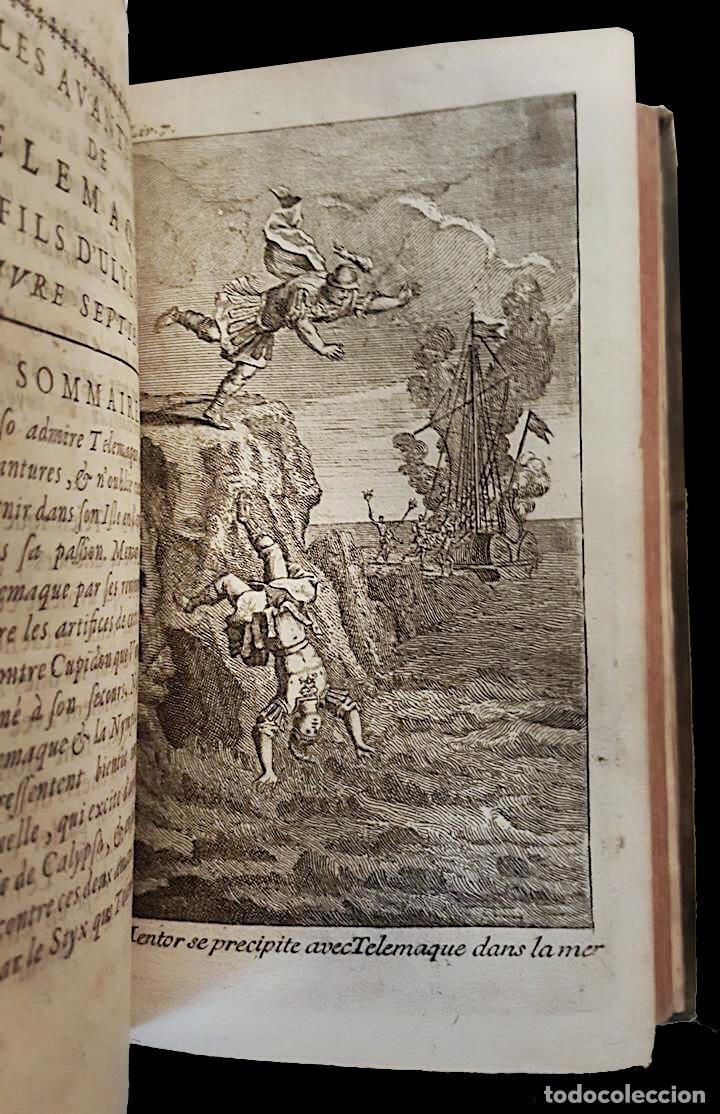 Libros antiguos: Les aventures de telemaque, 1740, francois de Salignac, tomo I, paris - Foto 3 - 60840703