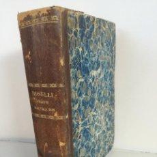 Libros antiguos: FRATRIS SALVATORIS MARIAE ROSELLI (MADRID, AÑO 1788) - SUMMA PHILOSOPHICA S. THOMAE AQUINATIS . Lote 96517615