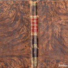 Libros antiguos: JAIME BALMES : FILOSOFÍA FUNDAMENTAL TOMO I (1860). Lote 96534463