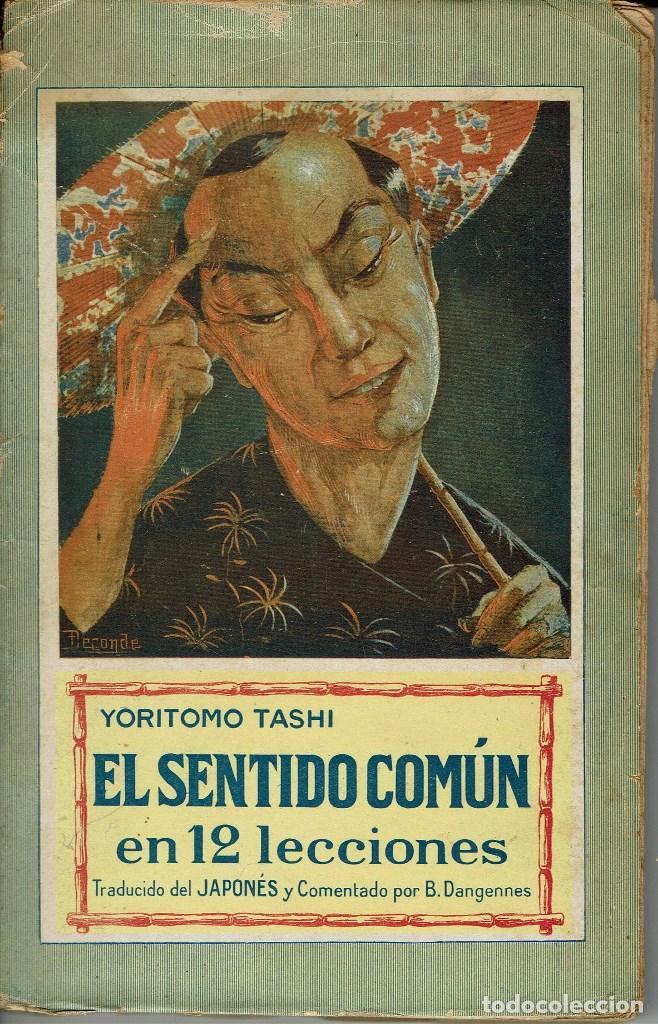 libro el sentido comun de yoritomo tashi