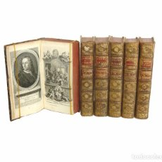 Libros antiguos: 1742 - CARTAS JUDÍAS O CORRESPONDENCIA FILOSÓFICA, HISTÓRICA... 6 TOMOS DEL S. XVIII - ESCEPTICISMO. Lote 96896979