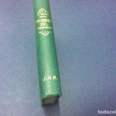 Libros antiguos: ORÍGENES DEL CONOCIMIENTO EL HAMBRE, RAMÓN TURRÓ - ESCASSO. Lote 97601419