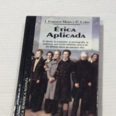 Libros antiguos: ETICA APLICADA. Lote 147233734