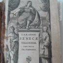 Libros antiguos: TRAGEDIAS DE SENECA AÑO 1665 PERGAMINO. Lote 102382387