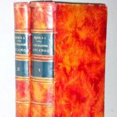 Libros antiguos: LOS GRANDES ARCANOS DEL UNIVERSO. FILOSOFÍA DE LA NATURALEZA. ( 2 VOLS.). Lote 102522419