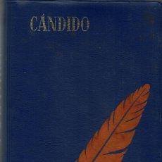 Libri antichi: VOLTAIRE - CÁNDIDO. BIBLIOTECA EDAF. V. Lote 102540411