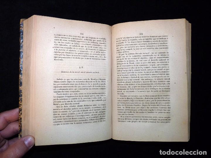 Libros antiguos: ZEFERINO GONZÁLEZ. FILOSOFÍA ELEMENTAL. TOMO 2. 2ª EDICIÓN. IMPRENTA DE POLICARPO LÓPEZ. MADRID 1876 - Foto 4 - 102738627