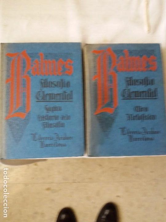 Libros antiguos: LIBRO. FILOSOFÍA ELEMENTAL. DOS LIBROS, 1º ETICA METAFÍSICA, 2º LÓGICA HISTORIA DE LA FILOSOFÍA.1935 - Foto 2 - 103453907