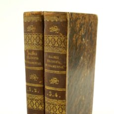 Libros antiguos: FILOSOFIA FUNDAMENTAL, 1848, JAIME BALMES, 4 LIBROS EN 2 VOLÚMENES. 13,5X21,5CM. Lote 103471563