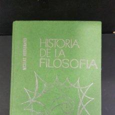 Libros antiguos: HISTORIA DE LA FILOSOFIA 3 TOMOS. Lote 103624983