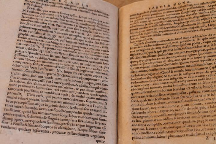 Libros antiguos: Decas fabularum humani generis sortem, mores ingenium, varia studia, inventa atque opera,... - Foto 4 - 25944116