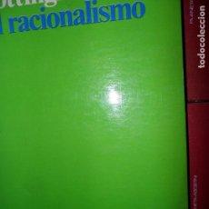 Libros antiguos: EL RACIONALISMO, JOHN COTTINGHAM, ED. ARIEL. Lote 107917743