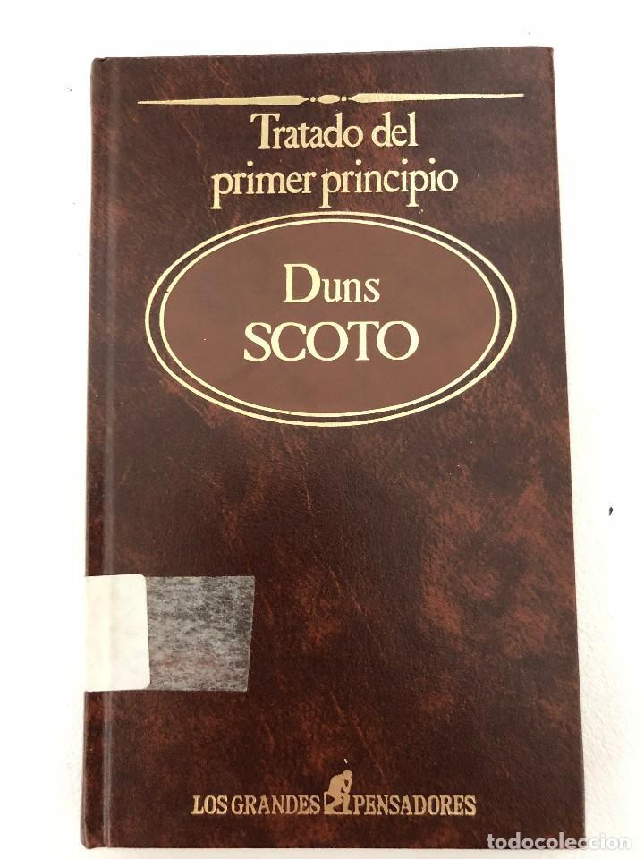 TRATADO DEL PRIMER PRINCIPIO DUNS SCOTO (Libros Antiguos, Raros y Curiosos - Pensamiento - Filosofía)