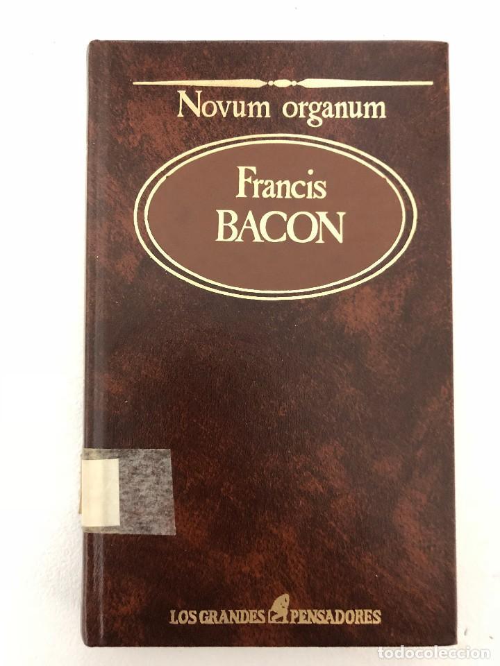 NOVUM ORGANUM FRANCIS BACON (Libros Antiguos, Raros y Curiosos - Pensamiento - Filosofía)