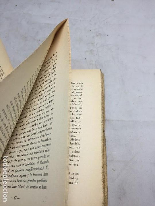 Libros antiguos: La redención de las provincias 1931 José Ortega y Gasset Revista de Occidente 1931 artículos Intonso - Foto 6 - 108299551